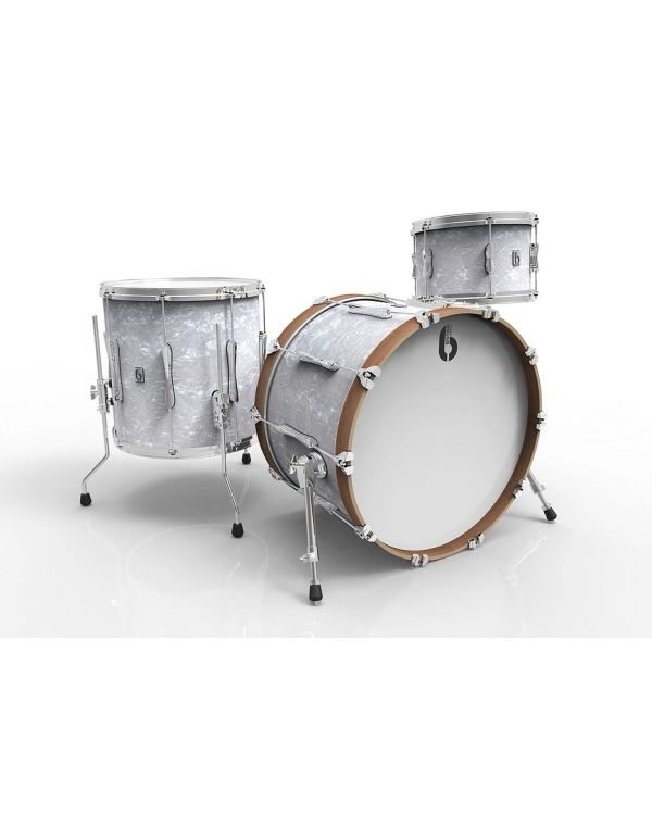 "British Drum Co. Lounge Series 20"" 3-Piece Shell Pack in Windermere Pearl"