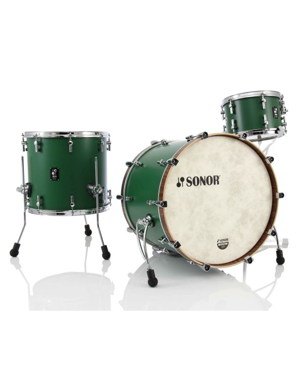 Sonor SQ1 3 Piece Shell Pack in Roadster Green