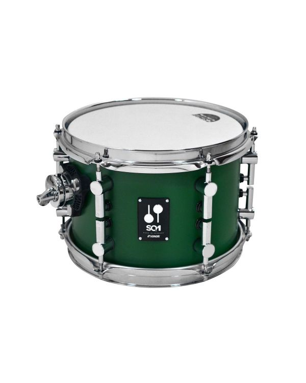 "Sonor SQ1 10"" x 7"" Rack Tom in Roadster Green"