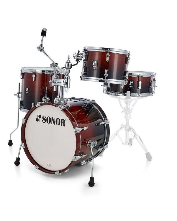 Sonor AQ2 Bop Set Shell Pack in Brown Fade