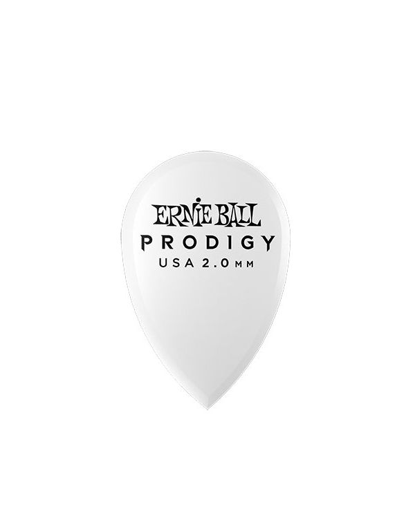 Ernie Ball Prodigy Teardrop 2.0mm Guitar Picks (Pack of 6)