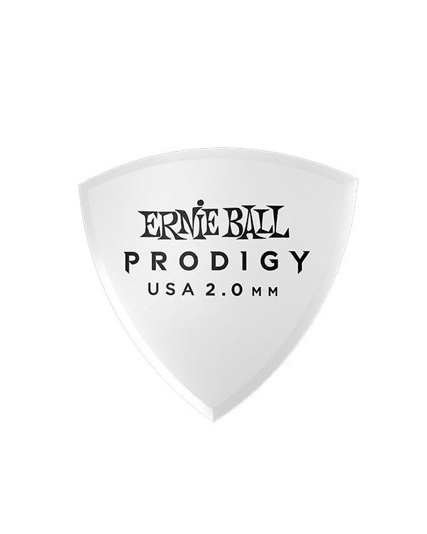 Ernie Ball Prodigy Shield 2.0mm Guitar Picks (Pack of 6)