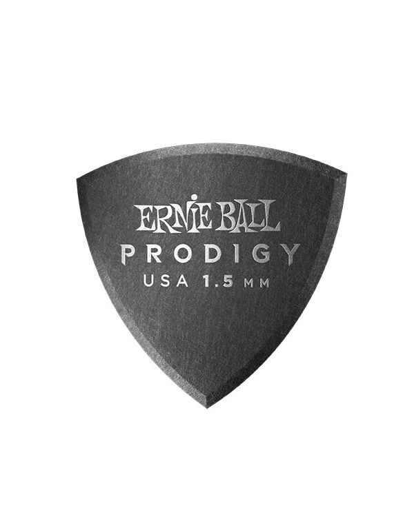 Ernie Ball Prodigy Shield 1.5mm Guitar Picks (Pack of 6)