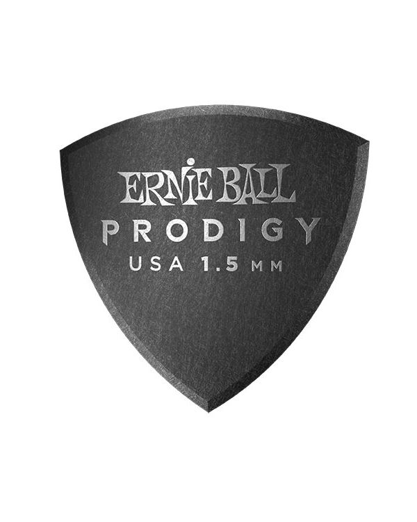 Ernie Ball Prodigy Large Shield 1.5mm Guitar Picks (Pack of 6)