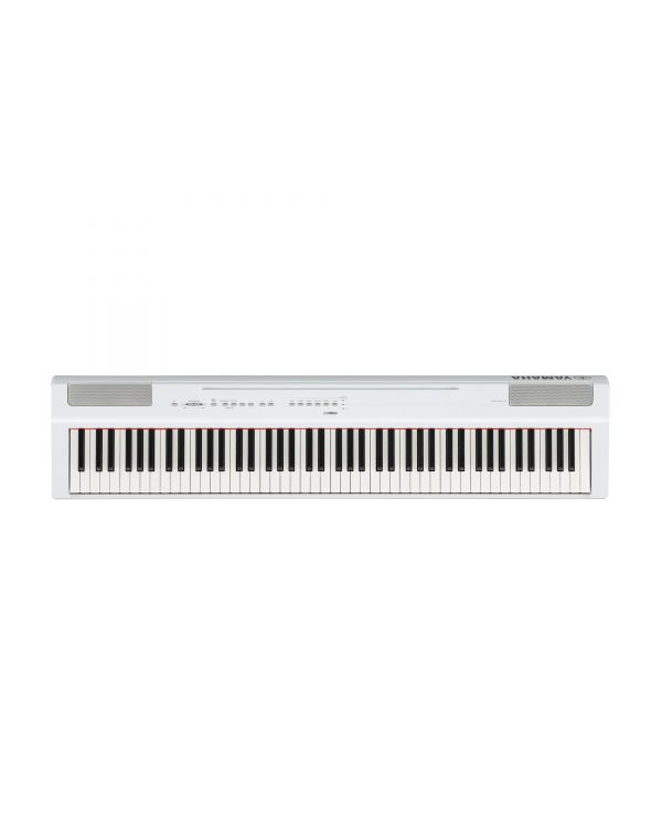 Yamaha P-125 Portable Digital Piano White