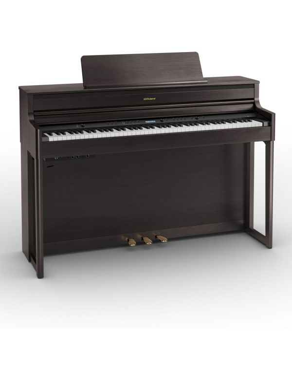 Roland HP704-DR Digital Home Piano, Dark Rosewood