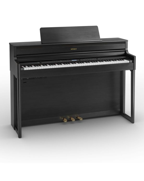 Roland HP704-CH Digital Home Piano, Charcoal Black