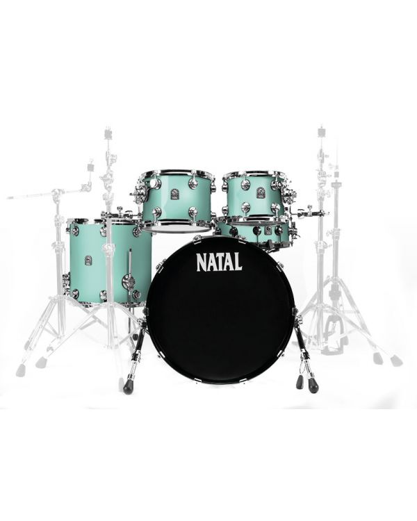 """Natal Cafe Racer 22"""" Shell Pack in Sea Foam Green"""