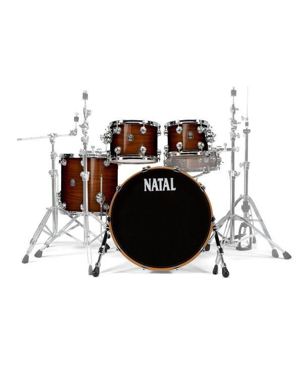 """Natal Originals Walnut 22"""" Shell Pack in Natural Walnut"""