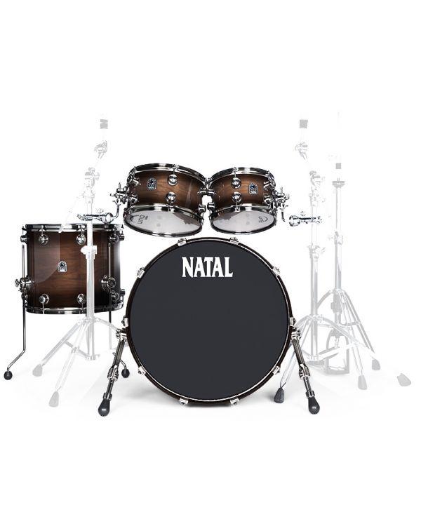 "Natal Originals Walnut 22"" Shell Pack in Vintage Burst"