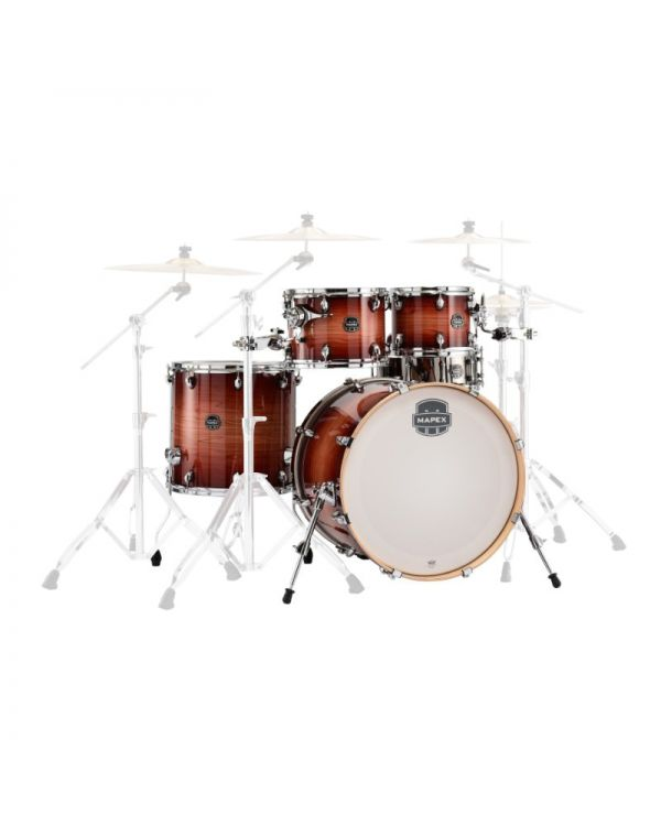 Mapex Armory Redwood Burst 5-Piece Rock Shell Pack
