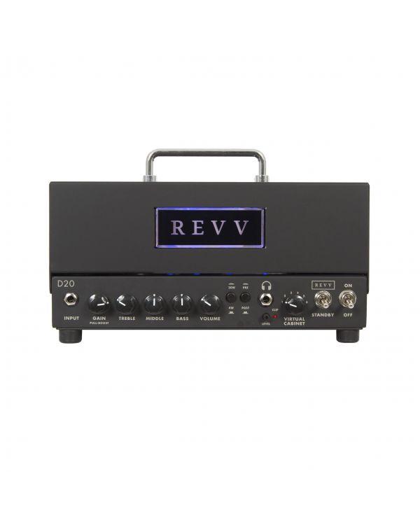 Revv D20 Lunchbox Tube Amp Head