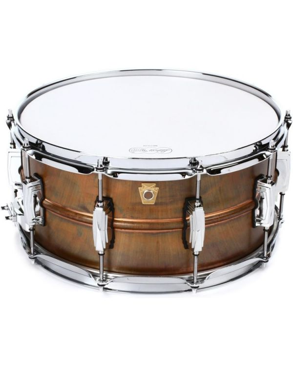 """Ludwig Copper Phonic 14"""" x 6.5"""" Snare Drum"""