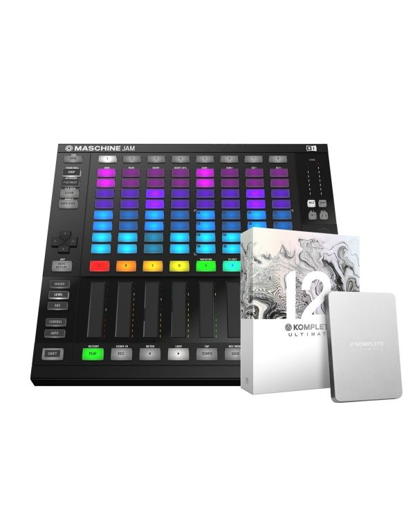 Native Instruments Maschine Jam with Komplete 12 Ultimate Collectors Edition