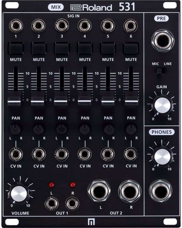 Roland System-500 531 Channel Mixer