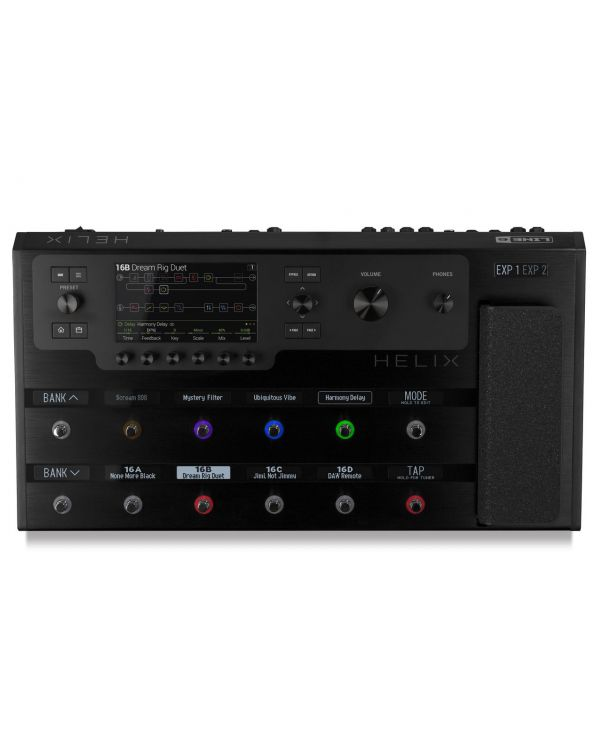 Line 6 Helix Floor Effects Processor with Soft Case