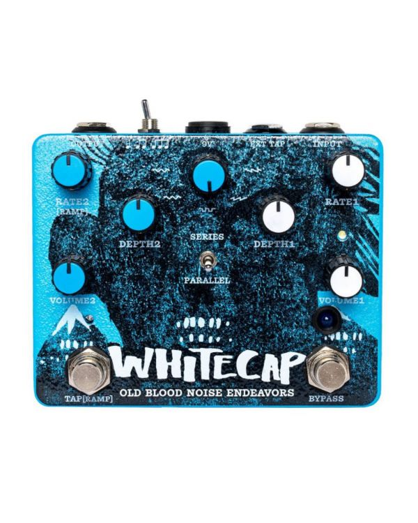 Old Blood Noise Endeavours Whitecap Asynchronous Dual Tremolo Pedal