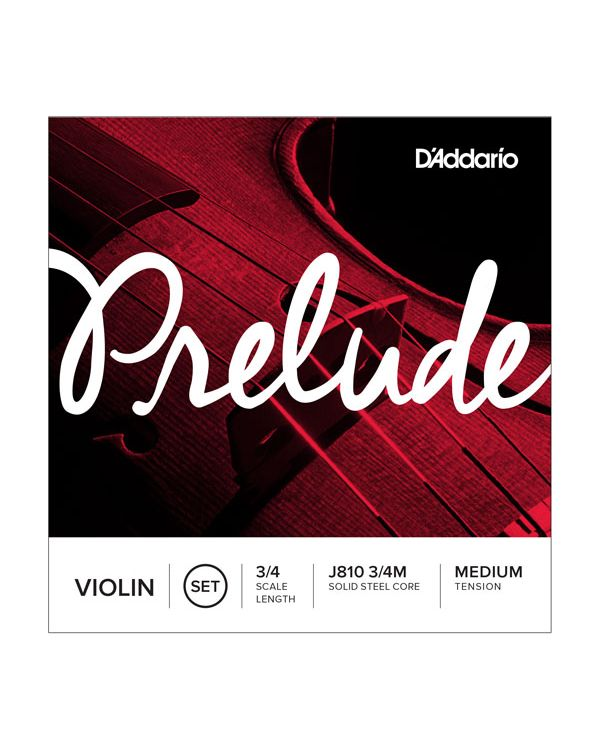 DAddario Prelude Violin String Set Medium Tension