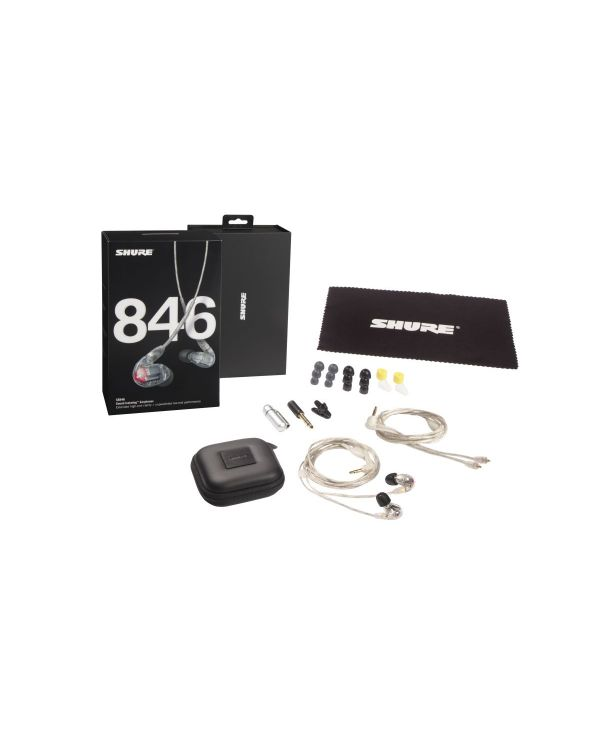 Shure SE846 In-Ear Monitor Headphones Clear