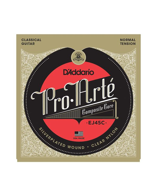 DAddario EJ45C Pro-Arte Composite Classical Guitar Strings Normal Tension