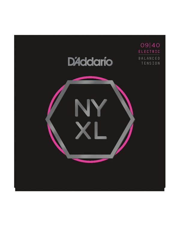 DAddario NYXL0940BT Super Light Nickel Electric Strings 09-40
