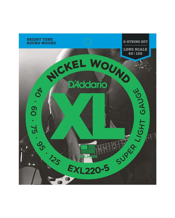 DAddario EXL220-5 5-String Nickel Wound Bass Strings
