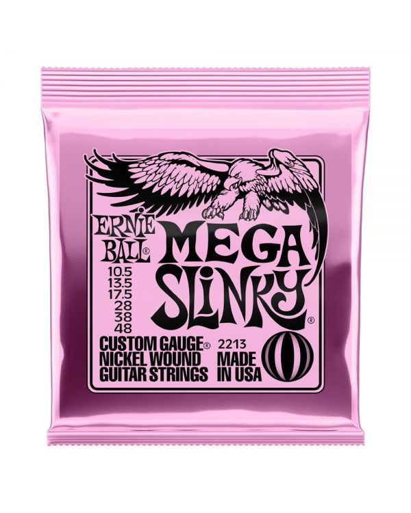 Ernie Ball Mega Slinky Electric Guitar Strings 10.5 - 48