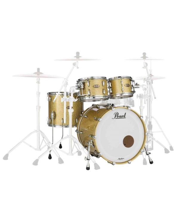 Pearl Masters Maple Reserve 22in 4 Piece Shell Pack in Bombay Gold Sparkle