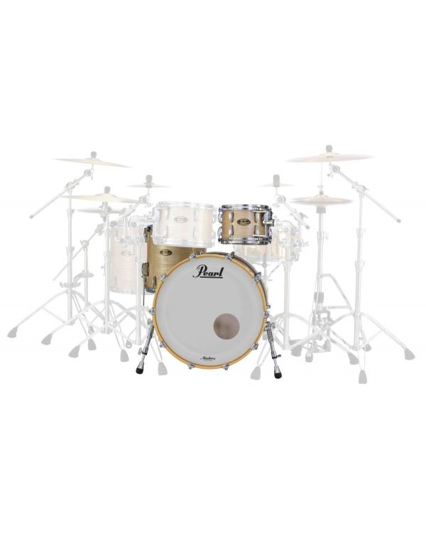 Pearl Masters Maple Gum 22in 3 Piece Shell Pack in Platinum Gold Oyster