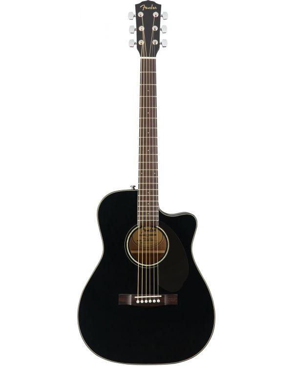 Fender CC-60SCE Concert Electro-Acoustic Guitar Black