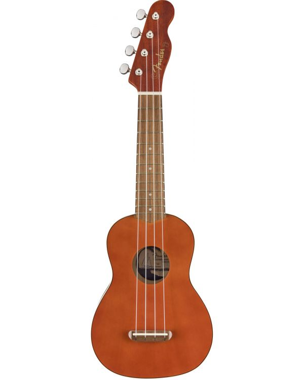 Fender California Coast Venice Soprano Ukulele WN Natural