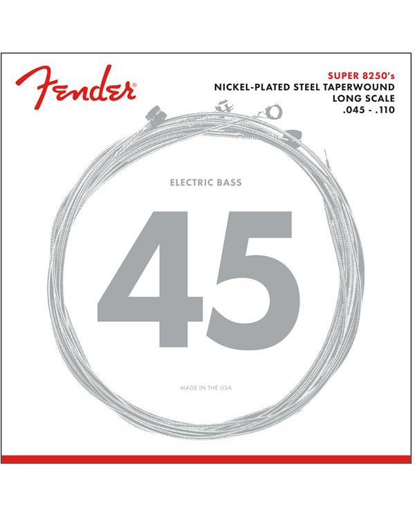 Fender Super 8250 Bass Strings Nickel Long Scale 45-110