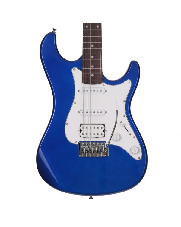 Eastcoast GS100H HSS Electric Guitar Ocean Blue Metallic