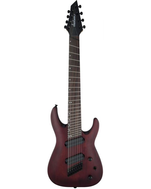 Jackson DKAF8 8-String Multiscale Guitar Stained Mahogany