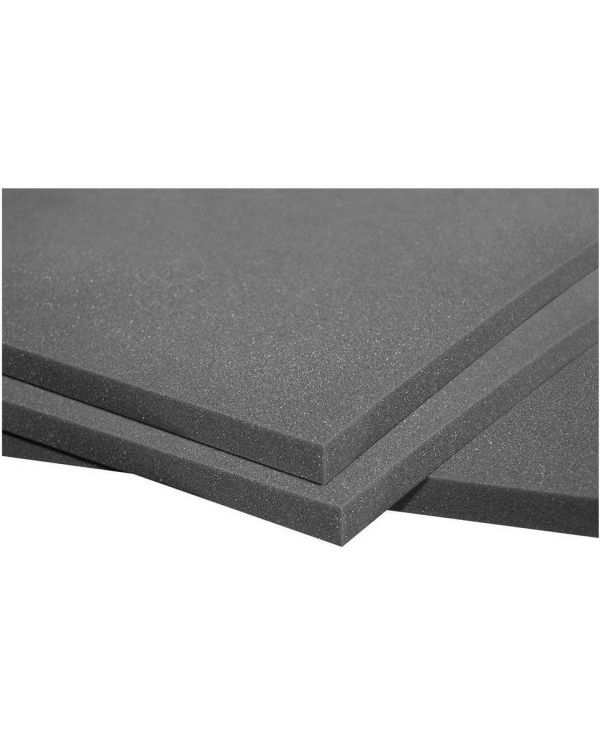 Auralex PlatFoam Isolation Sheets 8 Pack of 2 f x 4 ft x1in Panels