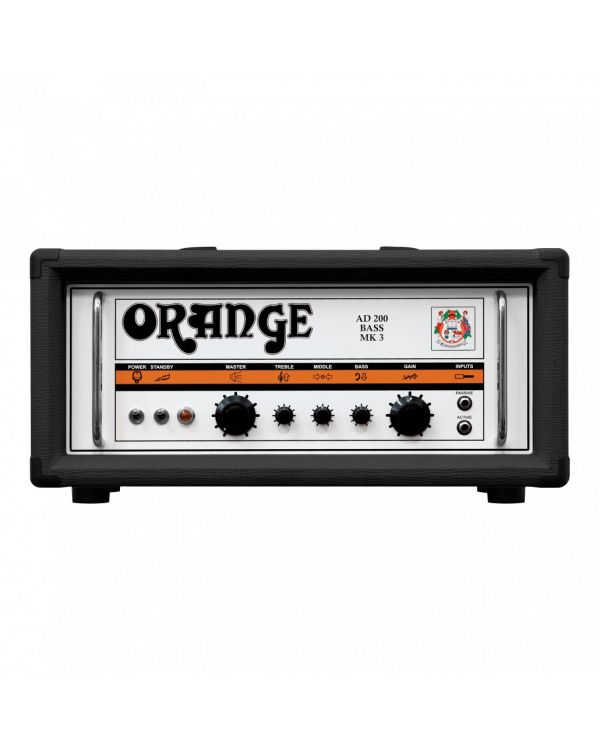 Orange AD200B Mk3 Bass Amplifier Head Black