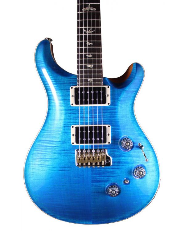 PRS Custom 24 Piezo Electric Guitar, RW, Aquamarine