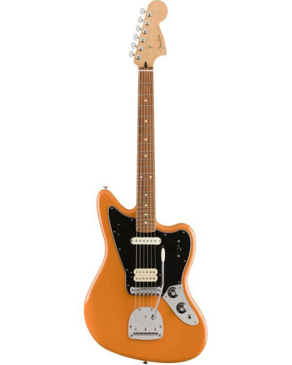 Fender Player Jaguar Guitar PF Capri Orange