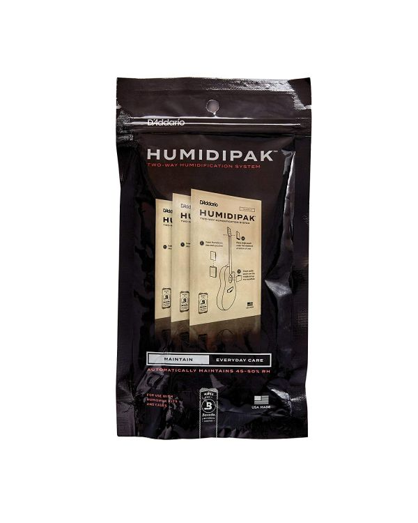 D'Addario Humidipak System Replacement Packets 3-Pack