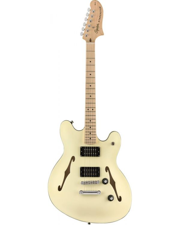 Squier Affinity Starcaster MN Olympic White
