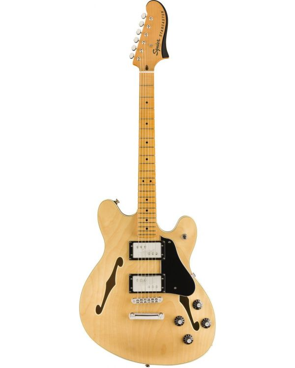 Squier Classic Vibe Starcaster MN Natural Finish