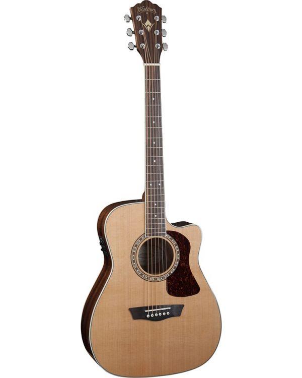 Washburn HF11SCE Folk Electro-Acoustic Guitar