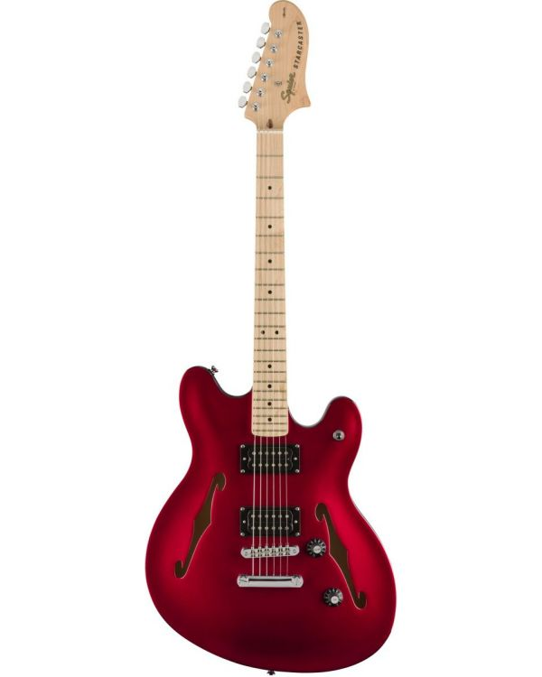 Squier Affinity Starcaster MN Candy Apple Red