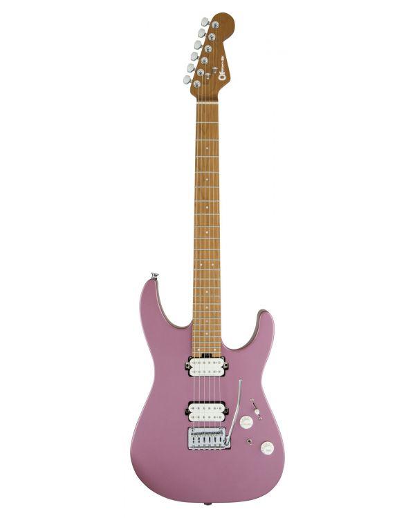 Charvel Pro-Mod DK24 HH 2PT CM Electric Guitar Satin Burgundy Mist