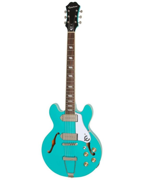 Epiphone Casino Coupe Turquoise Gloss