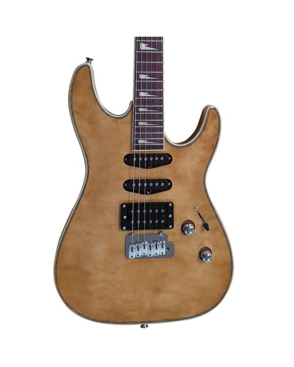 Eastcoast GVQ230 Electric Guitar, Natural