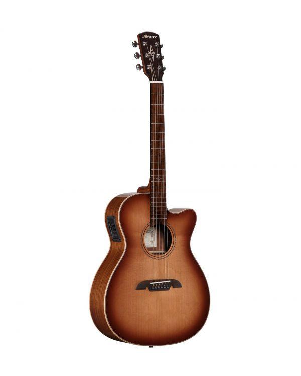 Alvarez AFA95CESHB OM Electro-Acoustic Guitar