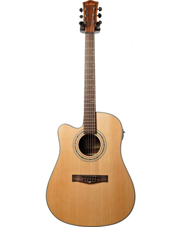 Eastcoast D1SCEL Dreadnought Cutaway LH Electro-Acoustic Guitar