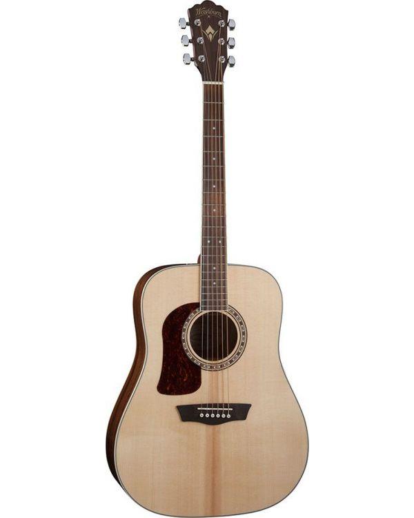 Washburn HD10SLH Left Handed Dreadnought Acoustic Guitar