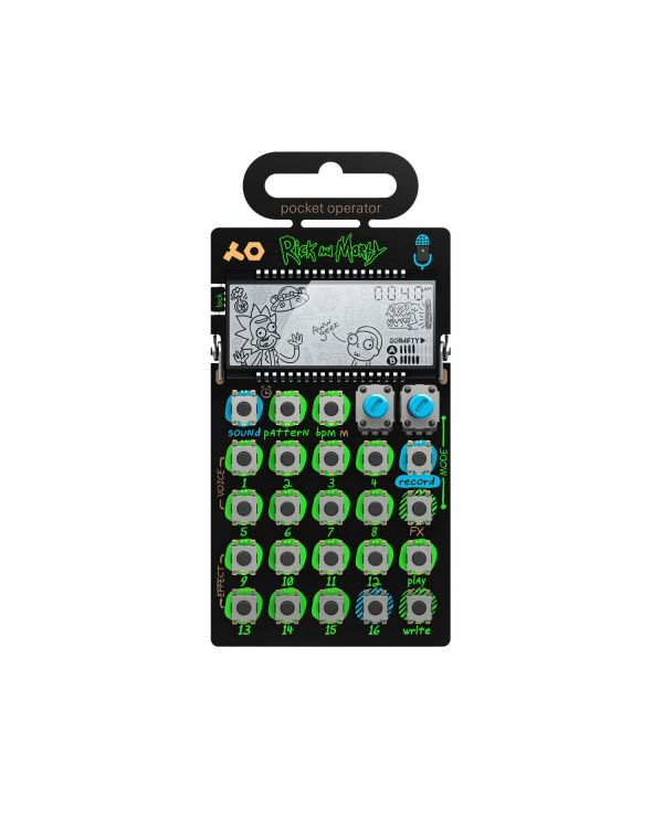 Teenage Engineering PO-137 Rick and Morty Pocket Operator Vocal Synthesizer